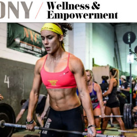 Ebony Magazine – Tips for Spring Fitness from a Top Reebok Crossfit Trainer
