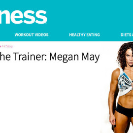 Fitness Magazine – Meet the Trainer: Megan May