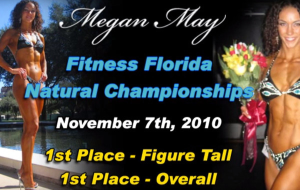 Megan May Wins 1st at Fitness Florida